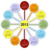 2013-as naptár