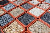 Variation of rocks for garden