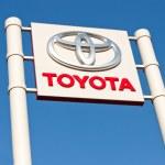 Постер, плакат: Toyota logobranding