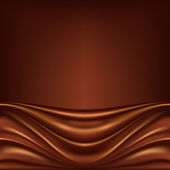 Abstract chocolate background brown abstract satin mesh vector illustration