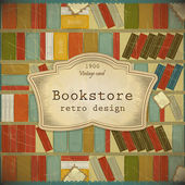 Vintage Book Background in scrapbooking style