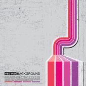 Retro grunge background - vector