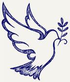 Vektorové holubice symbol