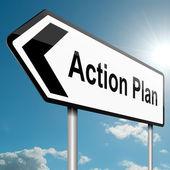Aktion-Plan-Konzept