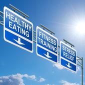 Koncept zdravého životního stylu