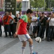 Постер, плакат: Football freestyler