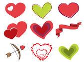 Valentine Day Elements
