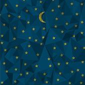Nachthimmel aus zerknittertes Papier hergestellt