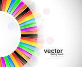 Absztrakt design színes új szivárvány kör hullám