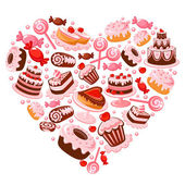 Candy heart Illustration