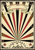 A retro circus poster for your advertising