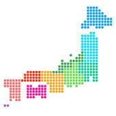 Japonsko mapa