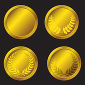 Set of gold medals in the vector