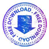 Free download rubber stamp illustration