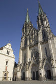 Saint Wenceslas Cathedra in Olomouc( Czech Republic. )