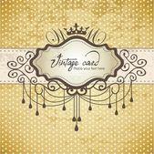 Luxury vintage frame template 01