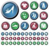 Clothes button set