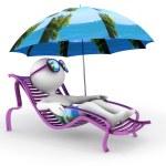 Постер, плакат: Summer vacation: seashore relaxation