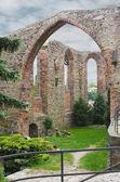 Ruiny kláštera v bautzene, Sasko, Německo