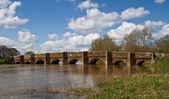 Bílý Mlýn most, dorset, Velká Británie