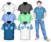 Herren T-shirt-design