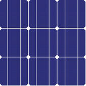 Fotovoltaické bezešvé vzor