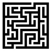 Maze - illustration for the web