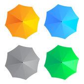 Umbrellas - illustration for the web