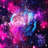 Fotografie Hluboký vesmír. abstraktní přirozené pozadí