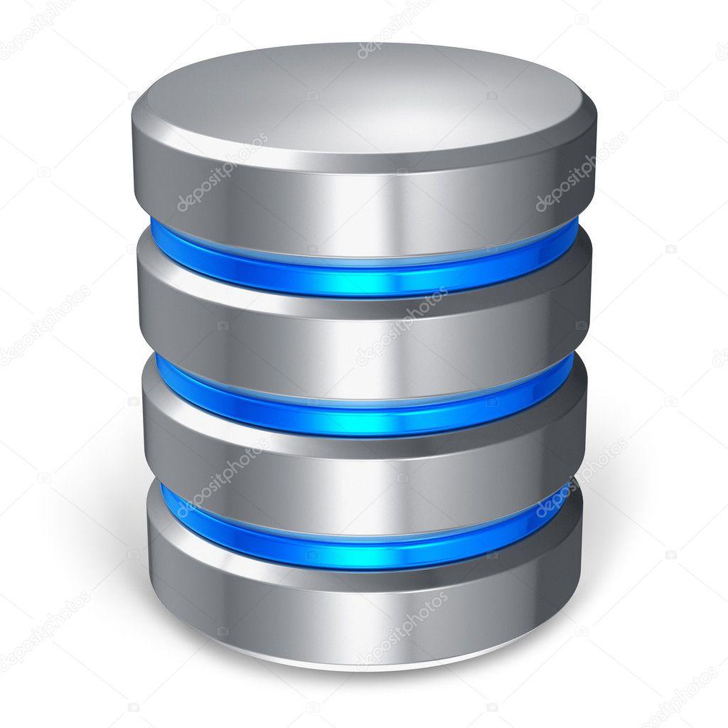 disque dur et ic u00f4ne de la base de donn u00e9es  u2014 photographie scanrail  u00a9  10901525