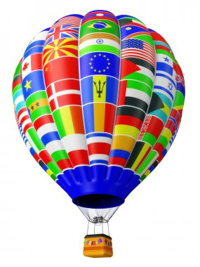 Balloon a symbol of globalization