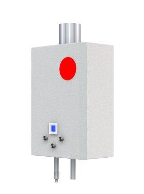 3d Gas boiler