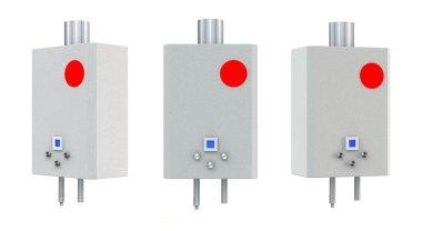 3d Gas boilers