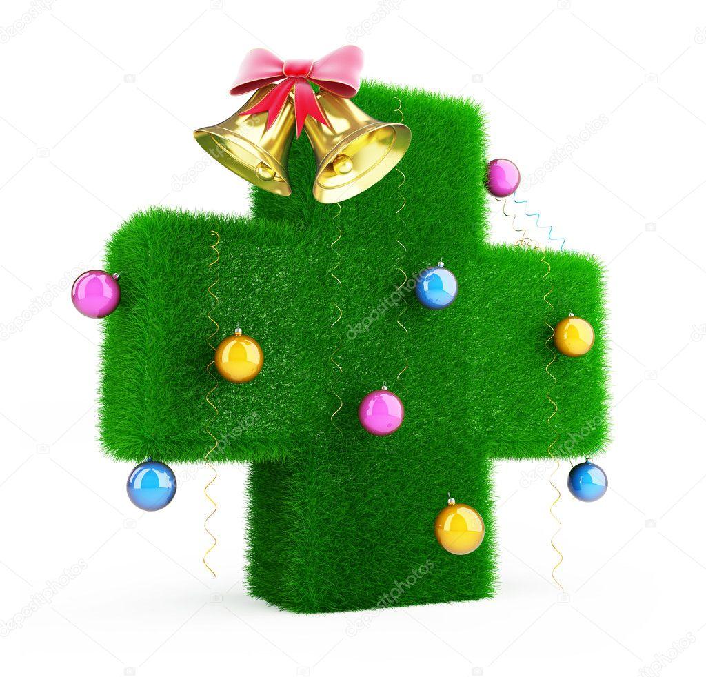 Medische Kruis Kerstboom Stockfoto C 3dfoto 11590527
