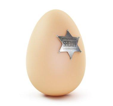 Egg sheriff