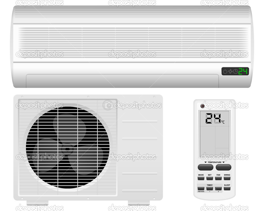 Air Conditioner Stock Vector 169 Julydfg 12281126