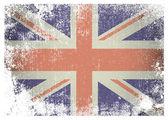 Photo Grunge british flag