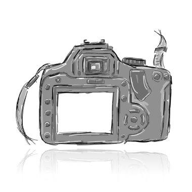 Sketch of camera for your design