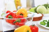 čerstvé zdravé jídlo