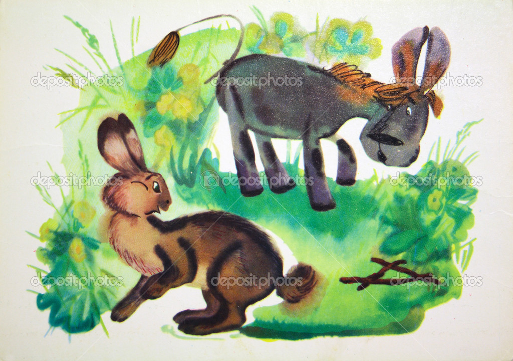 Donkey and rabbit tales of Winnie the Pooh