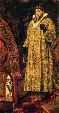 Valentin Vasnetsov - Tsar Ivan the Terrible