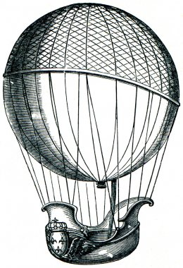 Balloon of Charles, and brothers Robert, 1784