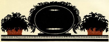 Black oval