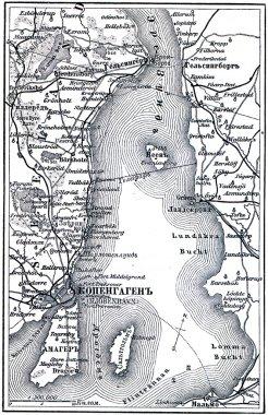 Map of the Copenhagen