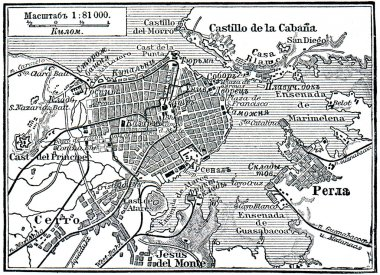 Plan of La Habana
