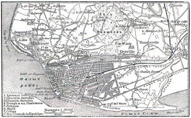 Plan of Le Havre