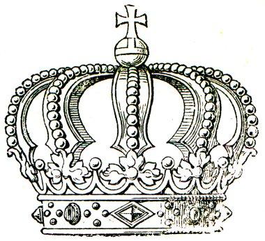 Tipical royal crown