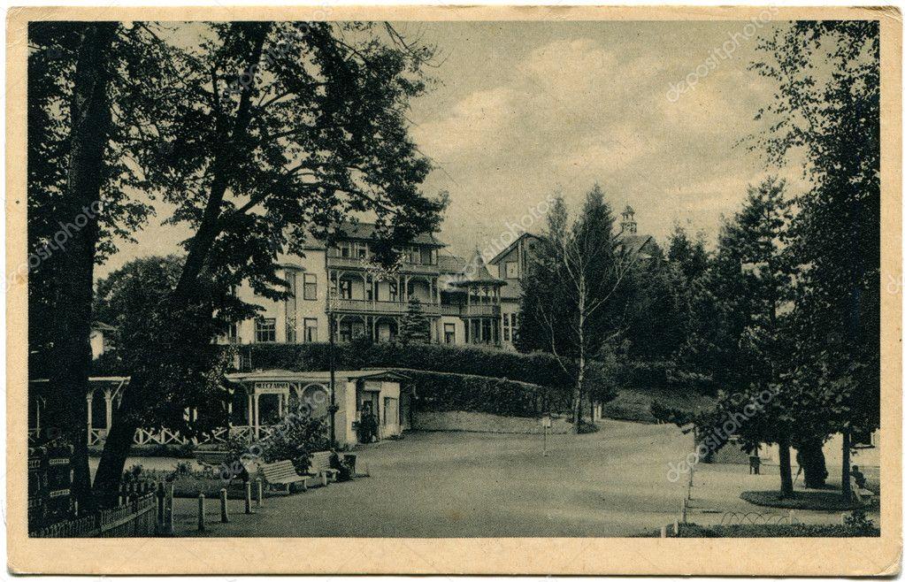 Antique postcard