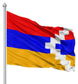 Mávání vlajkou Náhorní Karabach