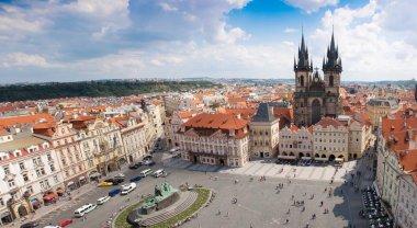 Prague city. Panorama